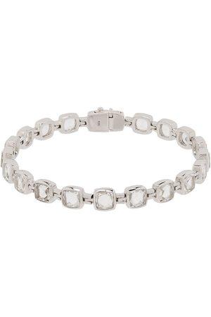TOM WOOD Muži Náramky - Sterling silver rock crystal cushion bracelet