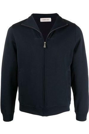 corneliani High neck zipped jacket