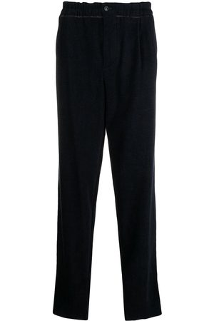 Armani Paperbag waist wide-leg trousers