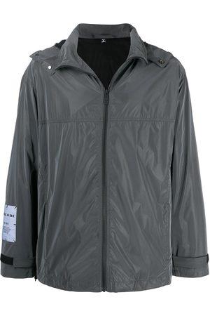 McQ Swallow Logo patch zipped jacket