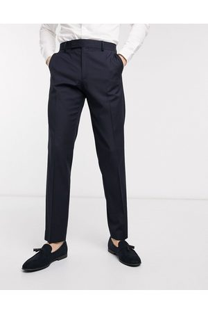 ASOS Slim suit trousers in navy