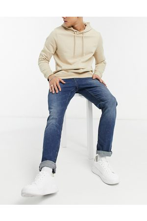 TOM TAILOR Adean straight jeans in mid blue