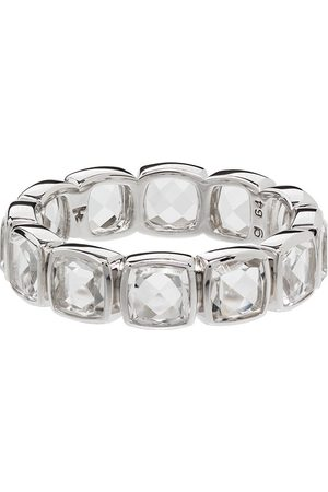 TOM WOOD Muži Prstýnky - Cushion Band Rock crystal-embellished ring