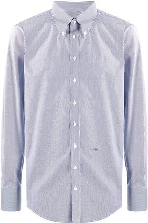 Dsquared2 Muži S dlouhým rukávem - Pinstripe long-sleeve shirt