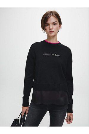 Calvin Klein Ženy Svetry - Dámský černý svetr