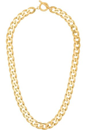 ALL BLUES Chain-link gold vermeil necklace