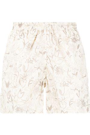 Jacquemus Light floral print shorts