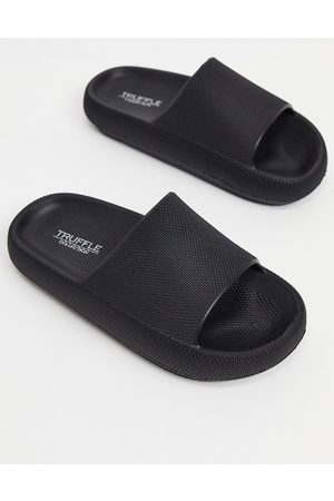 Truffle Collection Pool sliders in black