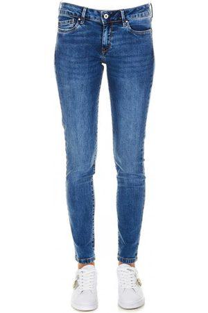 Pepe Jeans Ženy Kalhoty - Dámské modré džíny Pixie