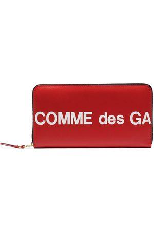 Comme des Garçons Peněženky - Logo printed wallet