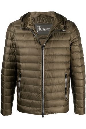 HERNO Padded hooded jacket