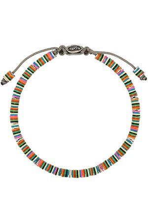 M. COHEN Beaded sterling silver bracelet
