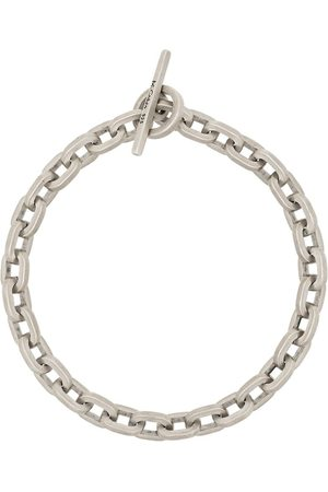M. COHEN Sterling silver chain-link bracelet