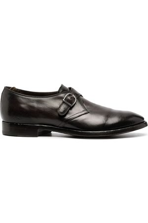 Officine creative Leather monk shoes