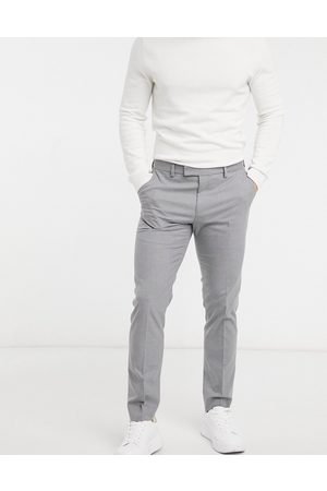 River Island Muži Chino - Skinny trousers in grey