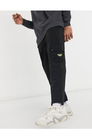 Hi-Tec Muži Kapsáče - Cargo trousers in black