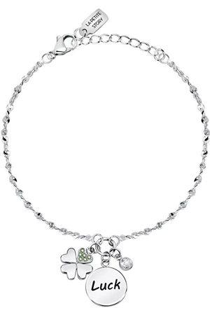 La Petite Story Ženy Náramky - Dámský ocelový náramek s přívěsky pro štěstí Friendship LPS05ARR62