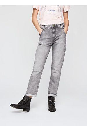 Pepe Jeans Ženy Kalhoty - Dámské šedé džíny Hanze
