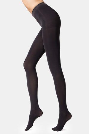 Conté Dámské stahovací punčochové kalhoty Velour 100 DEN