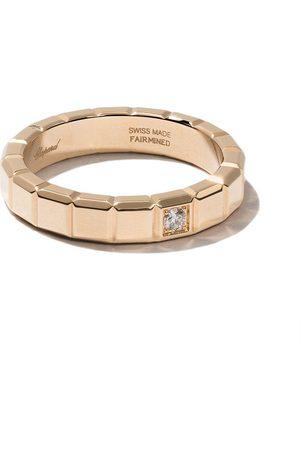 Chopard 18kt yellow gold Ice Cube diamond ring
