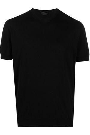 Prada Crew-neck knitted T-shirt