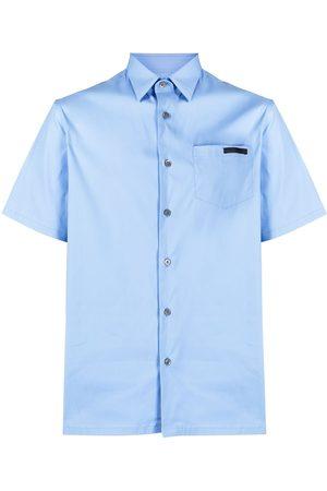 Prada Logo-patch short-sleeve shirt