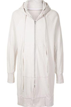 JULIUS Zipped hooded coat
