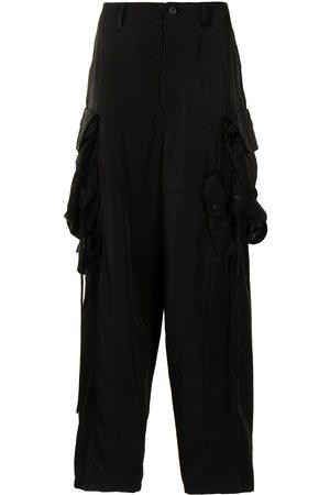 JULIUS Multiple cargo-pocket trousers