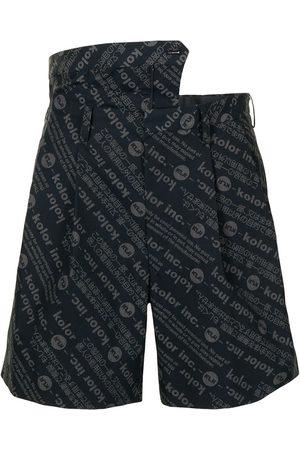 Kolor Layered waist shorts