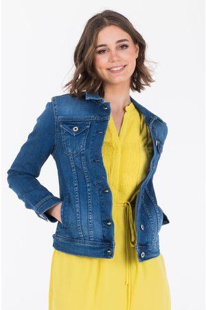 Pepe Jeans Ženy Džínové bundy - Dámcká džínová bunda Thrift