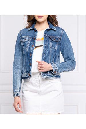 Pepe Jeans Ženy Džínové bundy - Dámská džínová bunda Core
