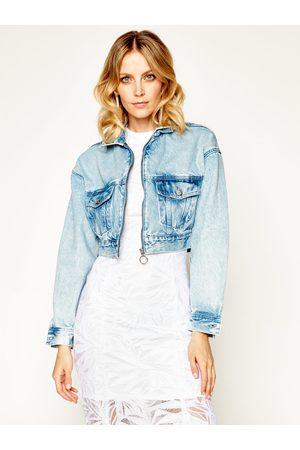Pepe Jeans Ženy Džínové bundy - Dámská džínová bunda Rogue