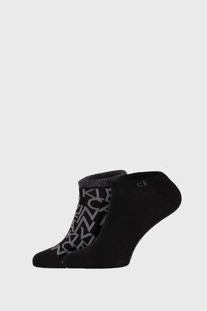 Calvin Klein 2 PACK černých ponožek Deangelo