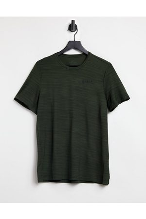 Nike Dry SuperSet t-shirt in khaki-Green