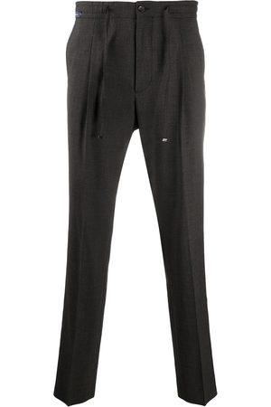 corneliani Muži Rovné nohavice - Elasticated straight-leg trousers