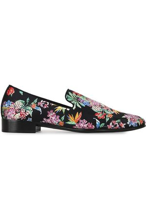 Giuseppe Zanotti Floral print loafers