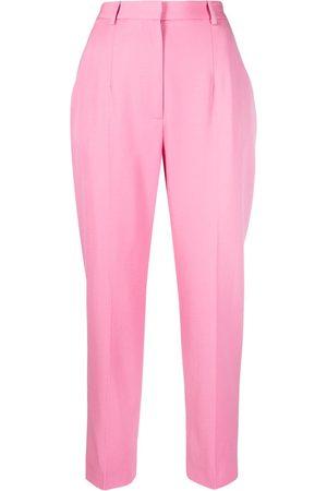 Alexander McQueen High-waist tailored trousers