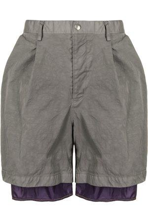 Kolor Layered hem shorts