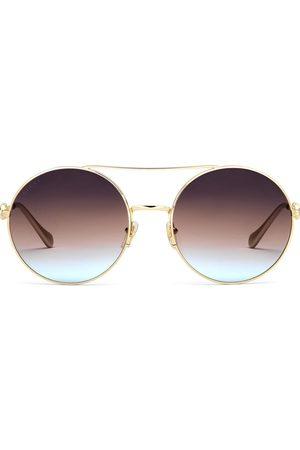 Gucci 648492I3330 round-frame sunglasses
