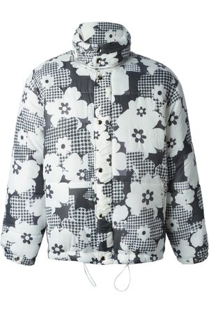 CHRISTOPHER SHANNON Floral print padded jacket