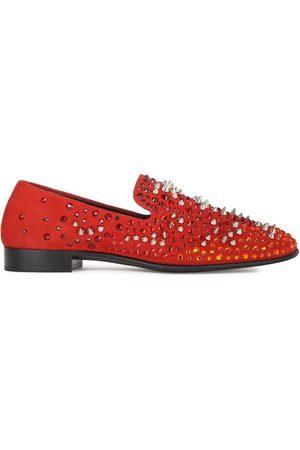 Giuseppe Zanotti Ignis embellished loafers