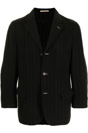 Comme des Garçons Pinstriped buttoned blazer