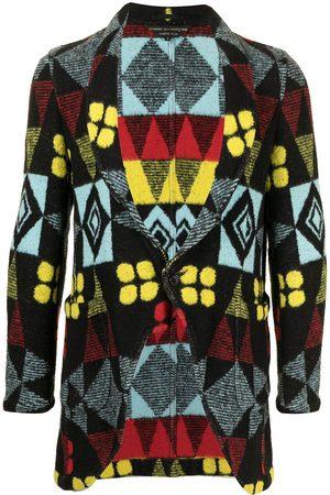 Comme des Garçons Geometric print jacket