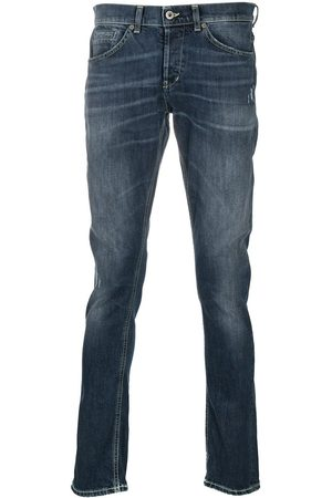 Dondup Whiskered straight-fit jeans