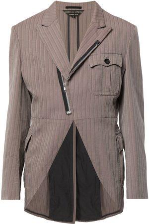 Comme des Garçons Asymmetric zip-up jacket
