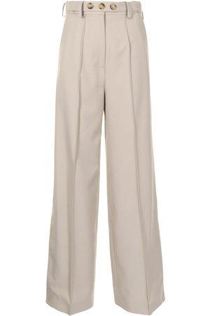 Rokh Ženy Široké nohavice - High-waisted wide-leg trousers