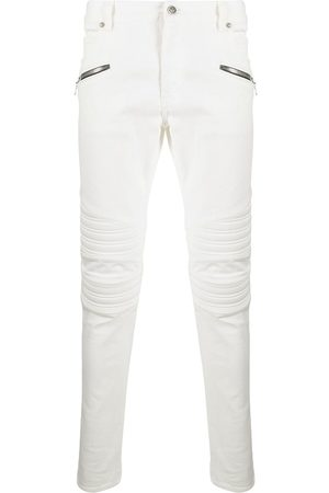 Balmain Ribbed multi-pocket jeans