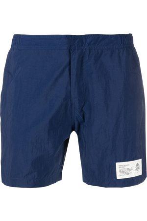 ELEVENTY Muži Šortky - Logo-patch swim shorts
