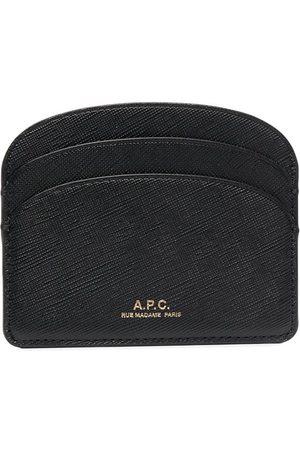 A.P.C. Demi-Lune leather cardholder