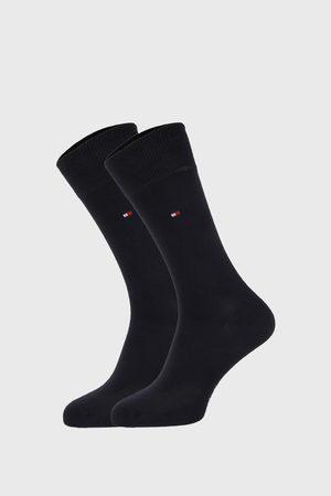 Tommy Hilfiger 2 PACK tmavěmodrých ponožek Classic